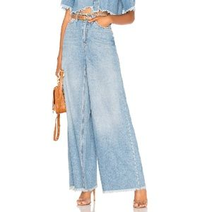 Free People Dust In The Wind Flare Jeans NWOT